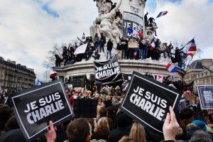 La manifestation du 11 janvier 2015 en hommage aux victimes de l'attentat du 7 janvier 2015